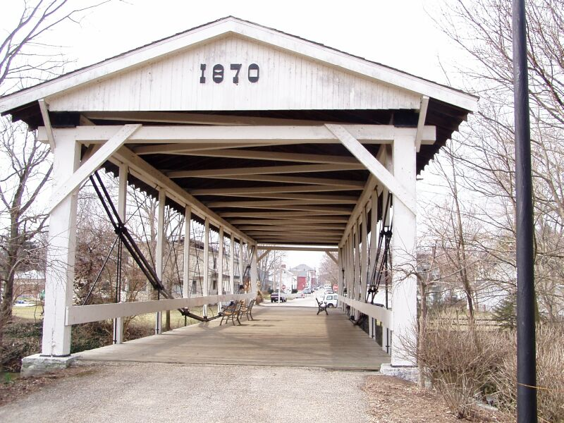 bow span bridge germantown
