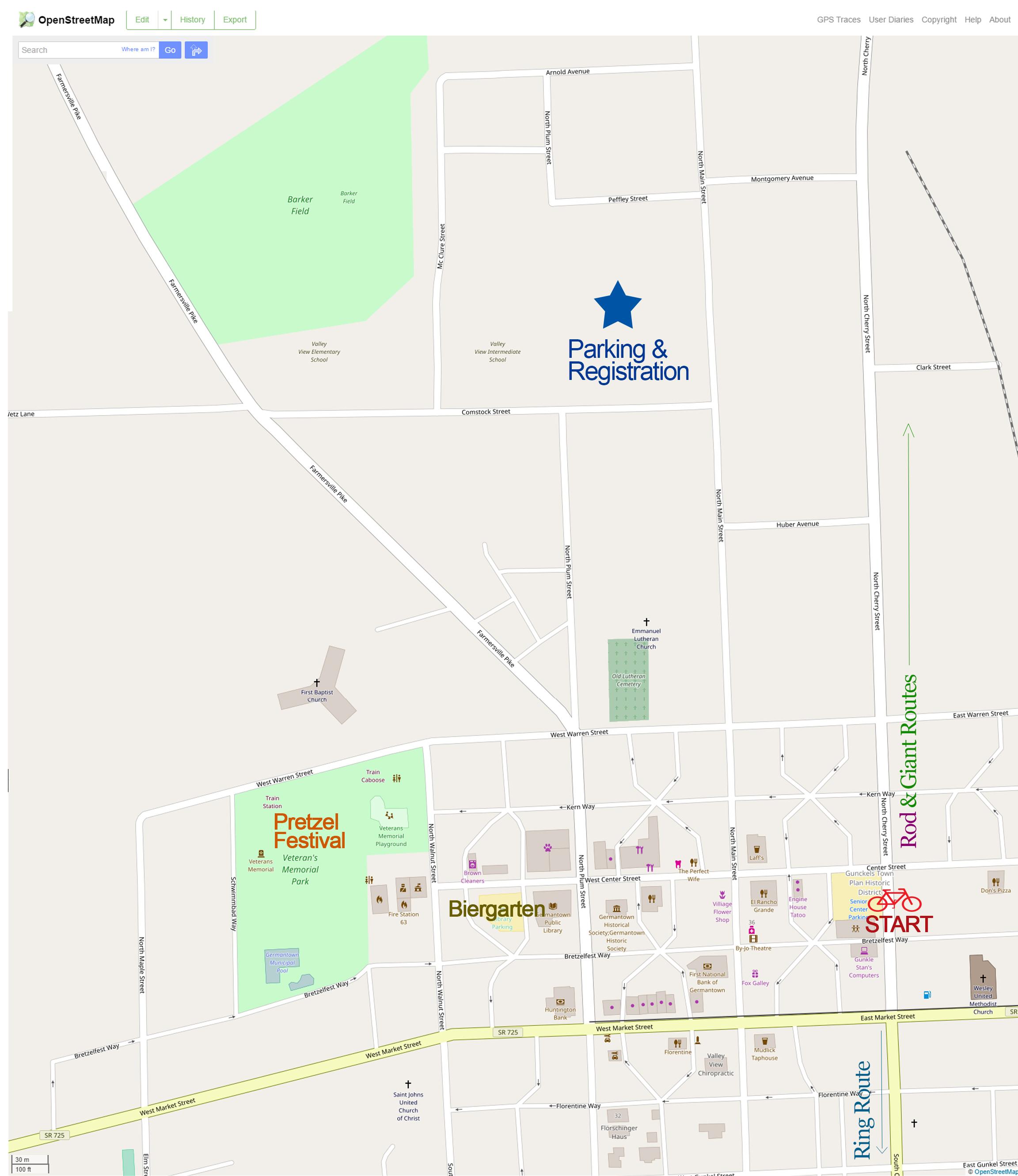 event area map